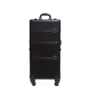 Βαλίτσα με 4 ρόδες TC-3360R Black Matte