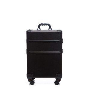 Βαλίτσα με 4 ρόδες TC-3362R Black Matte